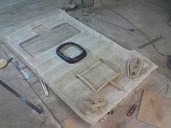 anpassen der komponenten golf 2 gfk kofferraum gfk. Black Bedroom Furniture Sets. Home Design Ideas